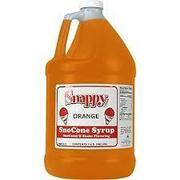 Shaved Ice Flavoring - Orange 1 Gallon