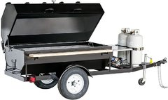 Towable Propane Grill - 4  Foot