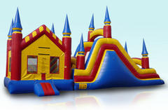 43ft Castle With Slide
