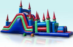 48ft Castle Slide Obstacle