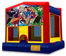 Avenging Hero Bounce House