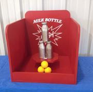 Carnival Game - Milk Bottle Baseball Game