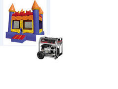 A-5 Party Package: Bounce House and Generator