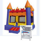 A-1 Party Package: Bounce House and Snow Cone Machine