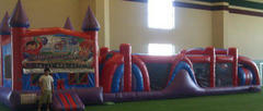 Castle with large Obstacle Course