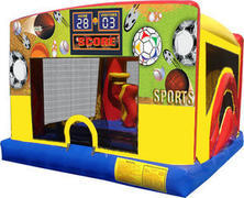 Indoor Combo Bounce House