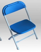 Kid Blue Folding Chair