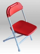 Kid Red Folding Chair