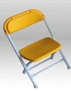 Kid Yellow Folding Chair