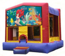 Little Mermaid Bounce House