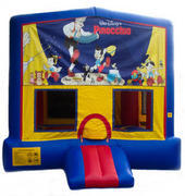 Pinocchio Bounce House