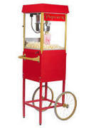 Popcorn Machine with Cart