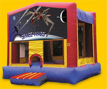 SpaceWars Bounce House