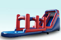 16ft Waterslide with slipdip combo