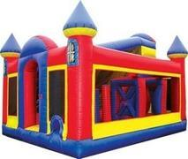 70ft Backyard Obstacle Fun House