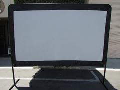 120 Inch Portable Movie Screen
