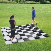 Giant Checkers Set Game Board