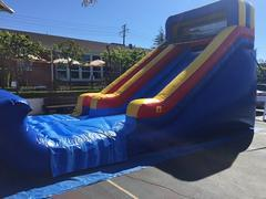 17ft Single Lane Dry Slide