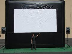 18 ft Movie Screen Package