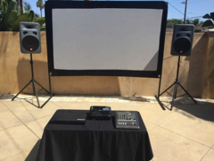 120 Inch Movie Screen Package
