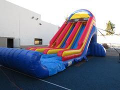 Mega Dual Dry Slide 25ft