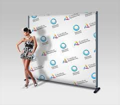 Custom vinyl back drop