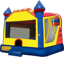 BOUNCE HOUSE WITH 15' SLIDE DRY OR WET + $50
