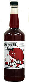 Cherry Snow cone flavor 32 oz.