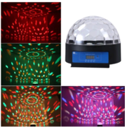 Dome with LED Motion Lights
