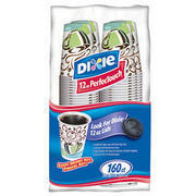 Coffee cups with lids upgraded(50 pk)