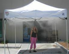 Stay cool tent Commercial Mist Cooling System