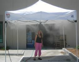 Stay cool tent Commercial Mist Cooling System & Daynau0027s Party Rentals and Catering |Tents rentals South New Jersey ...