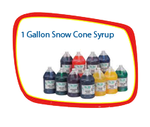 1 Gallon Snow Cone Syrup