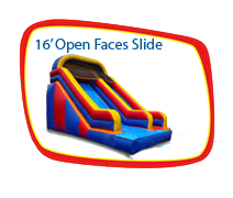 16ft. Open Faced Slide with out Stopper