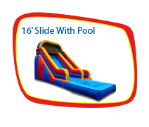 16ft. Slide with Pool