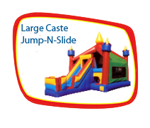 Large Castle Jump-N-Slide