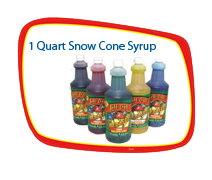 1 Quart Snow Cone Syrup