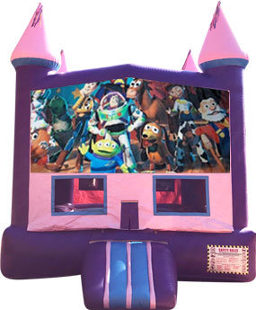 Toy Story Purple Castle