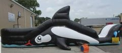 12ft Shamu Toddler Water Slide