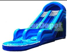 22ft Blue Crush Slide