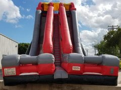 35 ft double edge dry slide