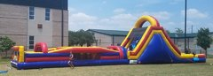 70ft obstacle course (wet or dry)