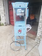 Snow Cone Machine w/Cart