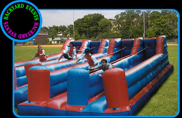 4 Lane bungee run $  DISCOUNTED PRICE