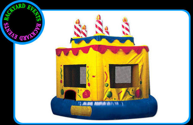 16X16 CAKE BOUNCE $ DISCOUNTED PRICE  $287.00