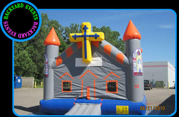 16X16 CHURCH BOUNCE $ DISCOUNTED PRICE $287.00