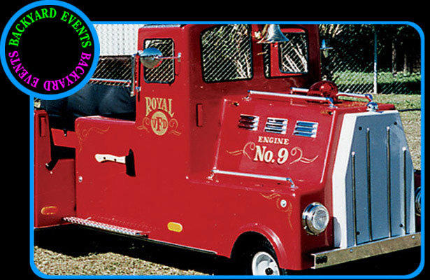 Firetruck ride DISCOUNTED PRICE