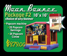 Moon Bounce Package 2