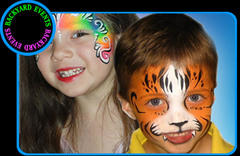 Facepainting per hour