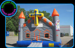 16X16 CHURCH BOUNCE $367.00 DISCOUNTED PRICE